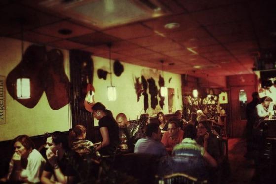 Argentijns grill restaurant La Cabana
