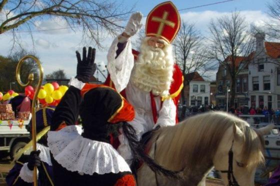 Intocht Sinterklaas in Brielle