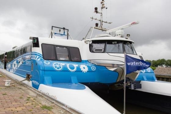Veerdienst Haringvliet Expeditie Waterbus